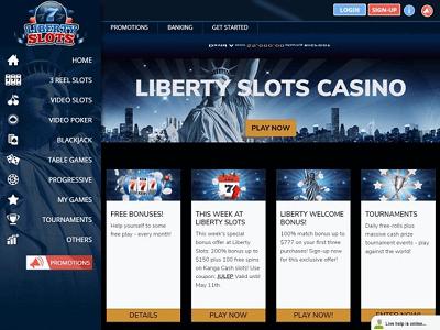 Liberty Slots Bonus