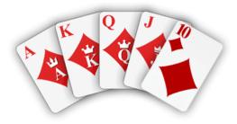 video poker hand