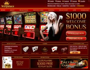 WinPalace Casino Reloads