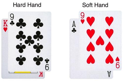 Blackjack hard hands