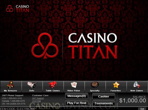 casino titan special
