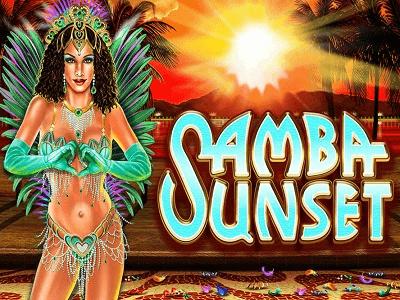 Samba Sunset Slot Banner