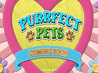RTG Slot Purrfect Pets Coming Soon Banner
