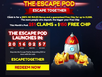 Attractive New Bonus at Planet 7 Casino