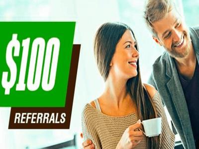 100 friend referrals