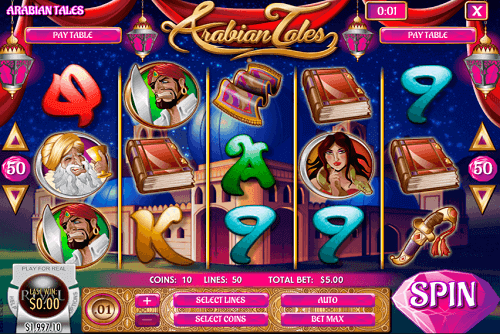 Arabian Tales Slot Review