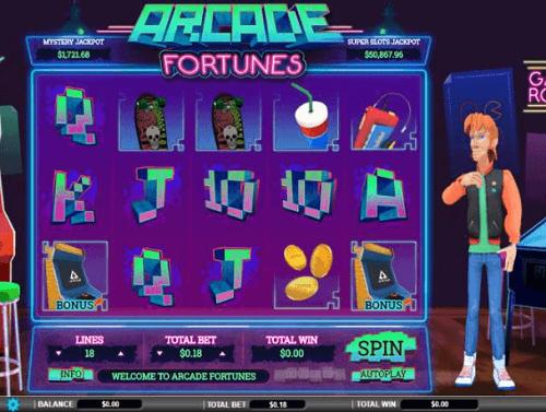 Arcade Fortunes Slot Review USA
