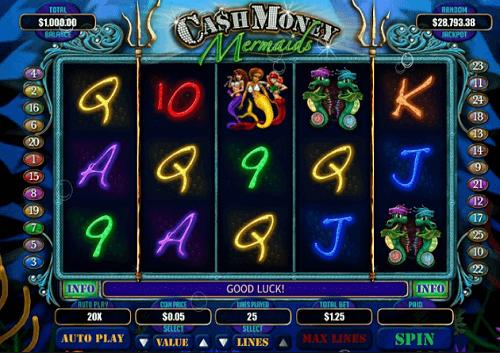 Cash Money Mermaids Slot Review USA