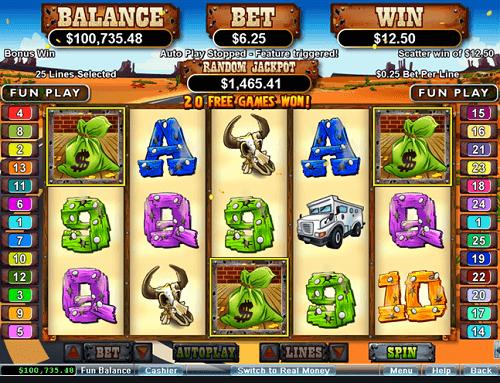 Coyote Cash Slot Reels
