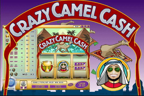 Crazy Camel Slot Review