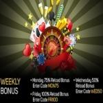 Gossip Slots Weekly Bonus