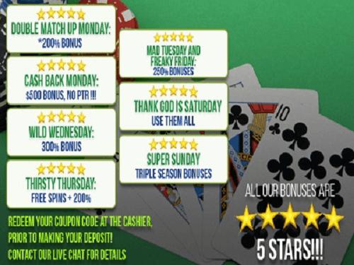 Las Vegas Usa Casino Bonuses Find The Latest Bonus Codes