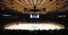 New York online sports betting ice hockey game at MSG
