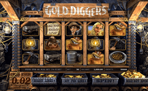 The Gold Diggers Slot USA