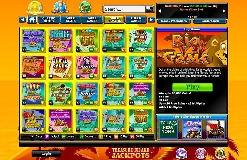 Treasure Island Jackpots Instant Play