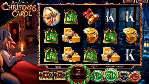 A Christmas Carol Slot Reels