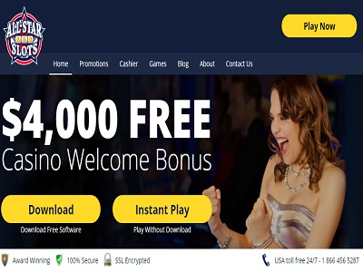 all star slots casino new welcome bonus offer