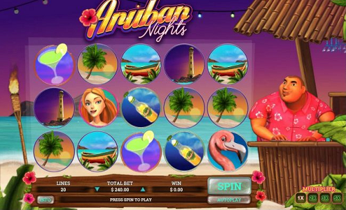 aruban nights slot reels