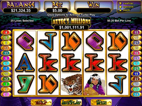 Aztec's Millions Slot Reels