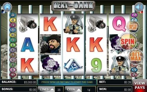 Beat the Bank Slot USA