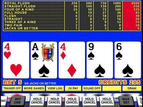 best way to play video poker in us