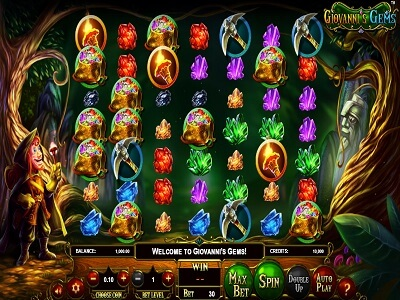Betsoft Gaming Slot Giovanni's Gems Game