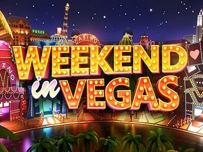 betsoft gaming slot weekend in vegas game banner