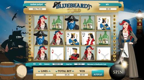 Bluebeard's Gold Slot Reels