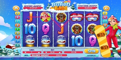 board babe slots review usa