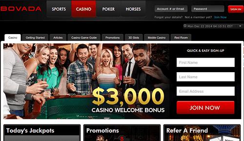 Bovada Casino Debuts New Welcome Bonus Scheme