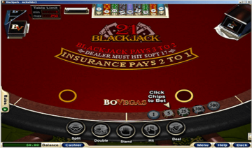 Bovegas Casino Blackjack