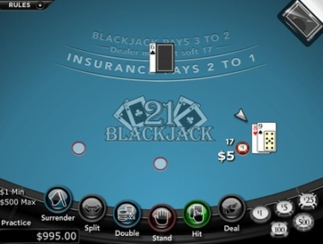 Cafe Casino Blackjack