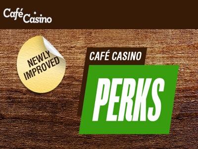 cafe casino perk points