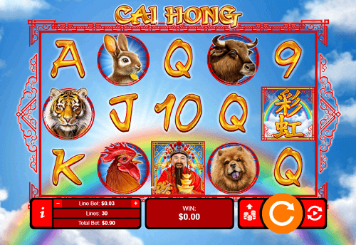 Cai Hong Slot Reels