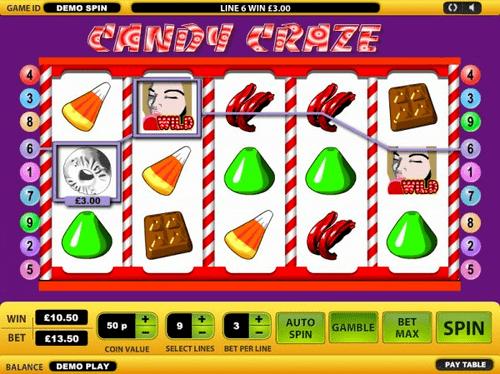 Candy Craze Slot Reels