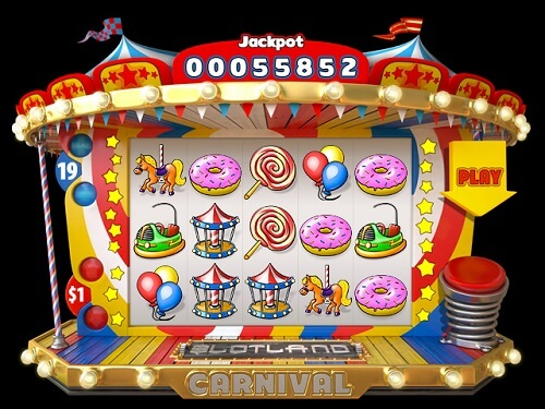 Carnival Online Slot Released by Slotland Casino