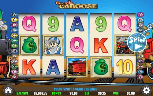 Cash Caboose Slot Reels