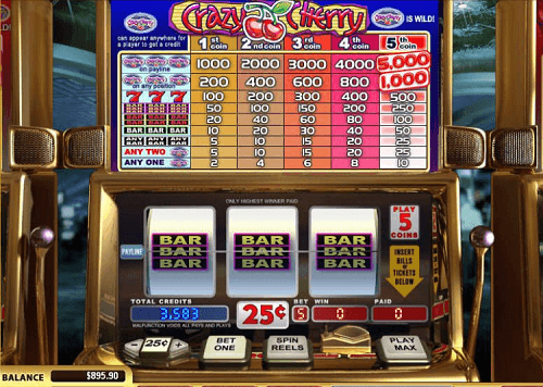 Slot crazy casino