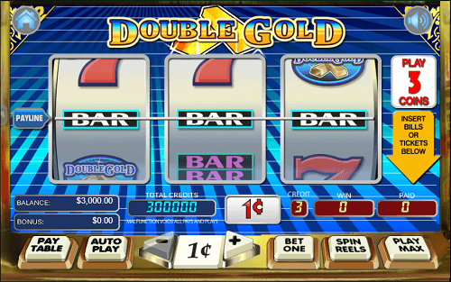 Double Gold Slot Reels