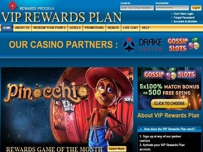 Drake Casino Rewards