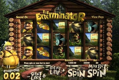 Exterminator Slots Reels