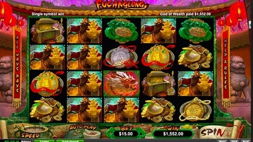 Fucanglong Slot Machine