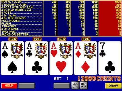 Full Pay Video Poker