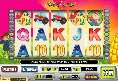 Funky Chicken Slot Reels