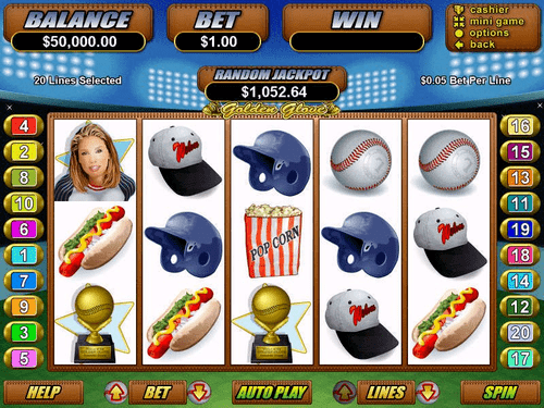 Golden Glove Online Slot Game