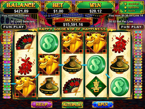 happy golden ox of happiness slot review us