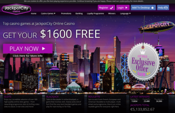 Jackpot City Casino Review and Ratings