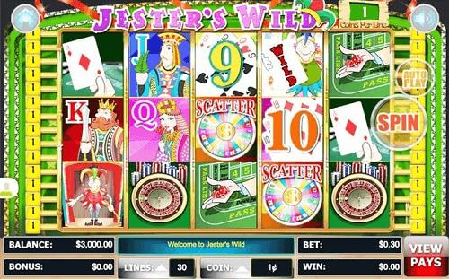 Jester Wild Slot Reels