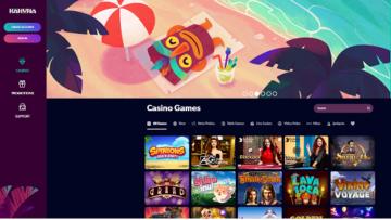 kahuna casino homepage