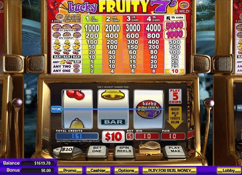 Lucky Fruity 7s Slot Game